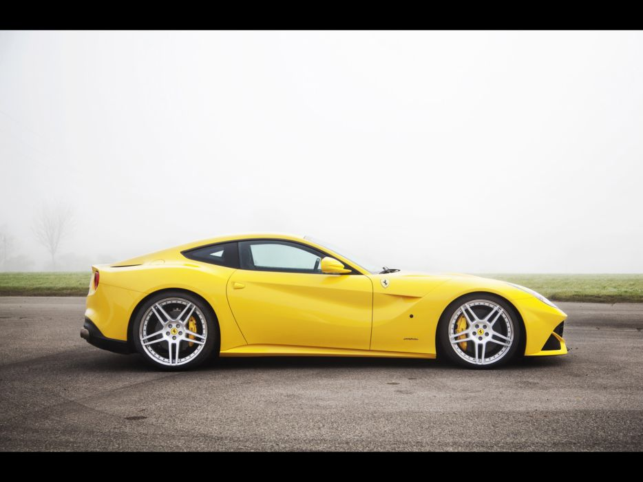 Novitec Rosso Ferrari F12 Berlinetta 2012 supercars wallpaper