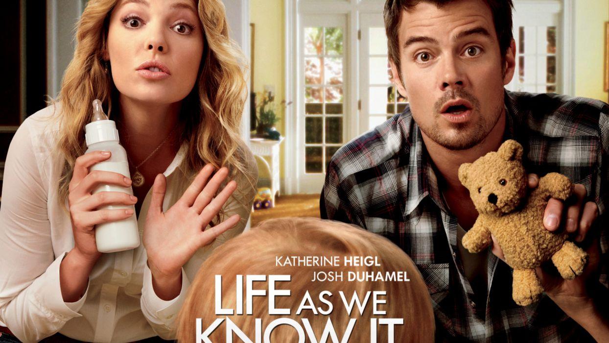 Life As We Know It josh duhamel katherine heigl movies wallpaper