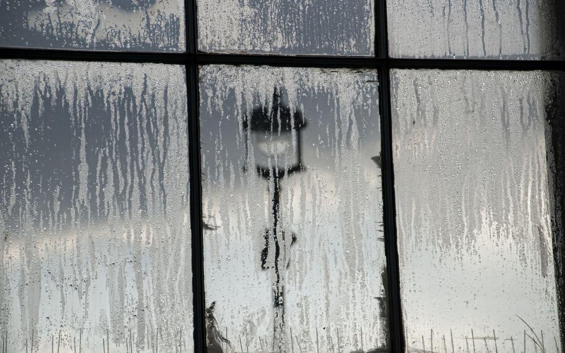 window rain drops storm mood wallpaper