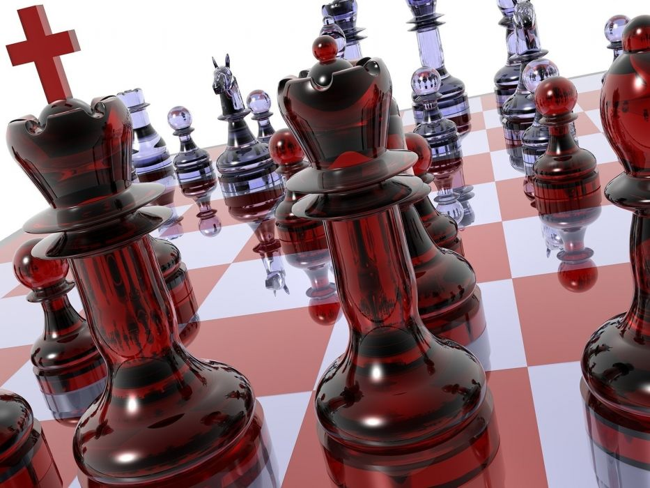chess 3d wallpaper