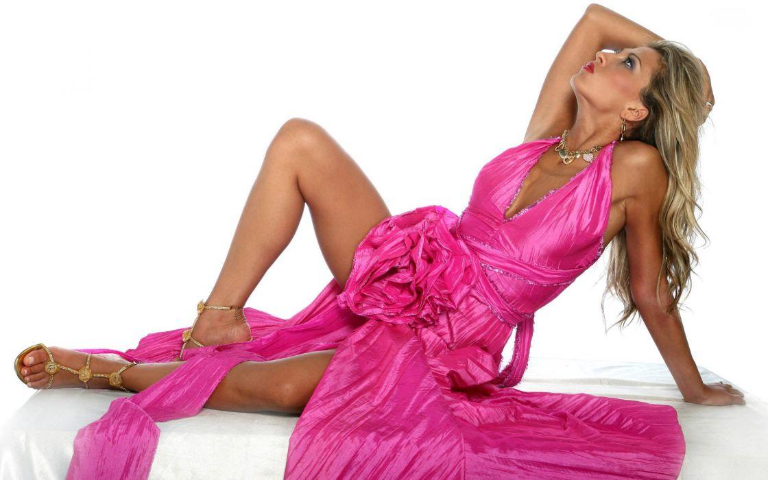 Maja Gligorovska women fashion glamour models brunettes sexy babes wallpaper