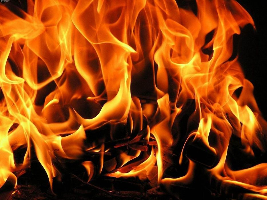 fire flames coals wallpaper