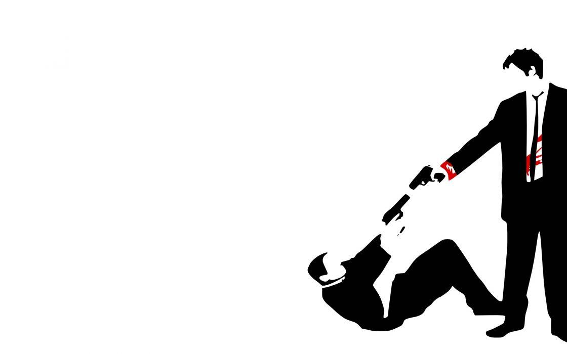 reservoir dogs dark blood men people vector weapons guns handguns pistol wallpaper