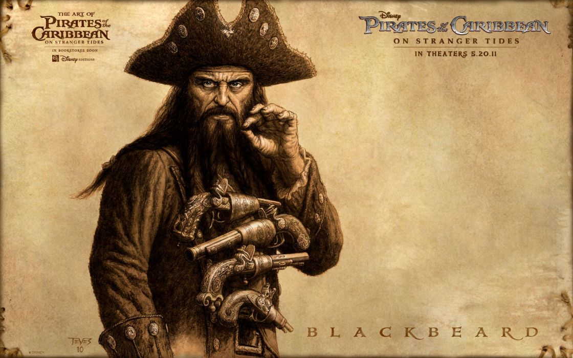 pirates of the caribbean fantasy wallpaper