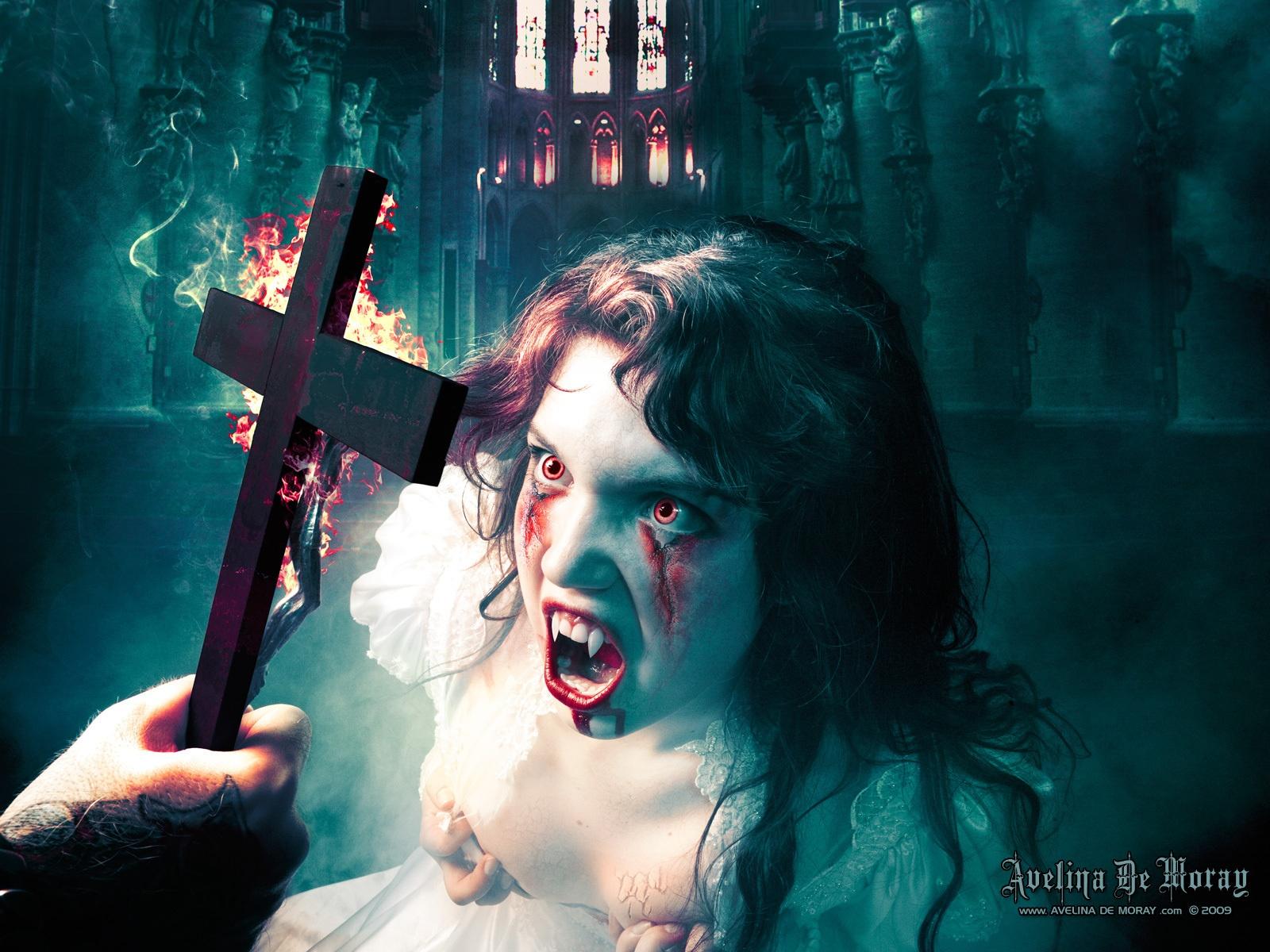 scary vampire wallpaper - photo #27