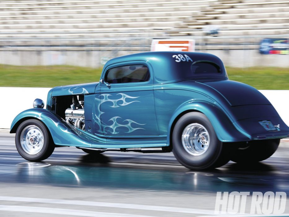 drag racing race cars track hot rods retro wallpaper