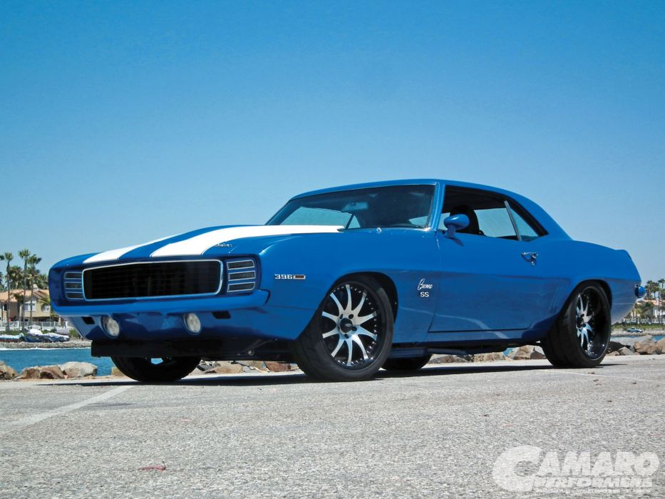 1969 chevrolet camaro muscle cars hot rods wallpaper