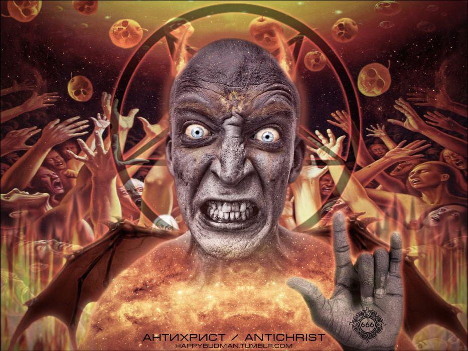 occult satan demon anti-christ evil wallpaper