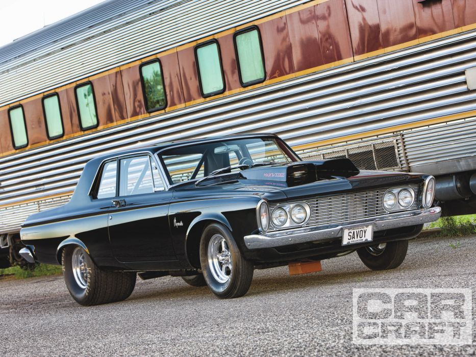 1963plymouth savoy drag racing hot rod muscle cars train wallpaper