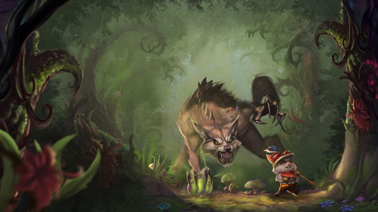 league of legends fantasy werewolf wallpaper