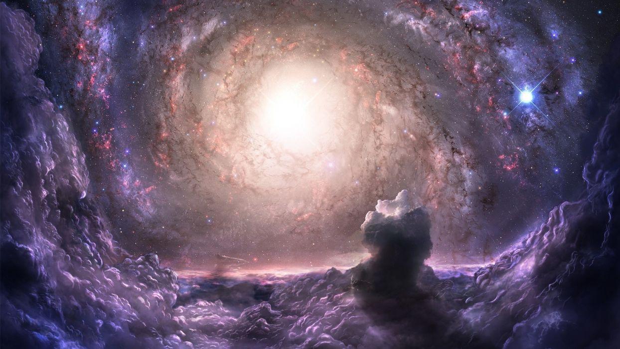 space nebula stars space sci-fi wallpaper