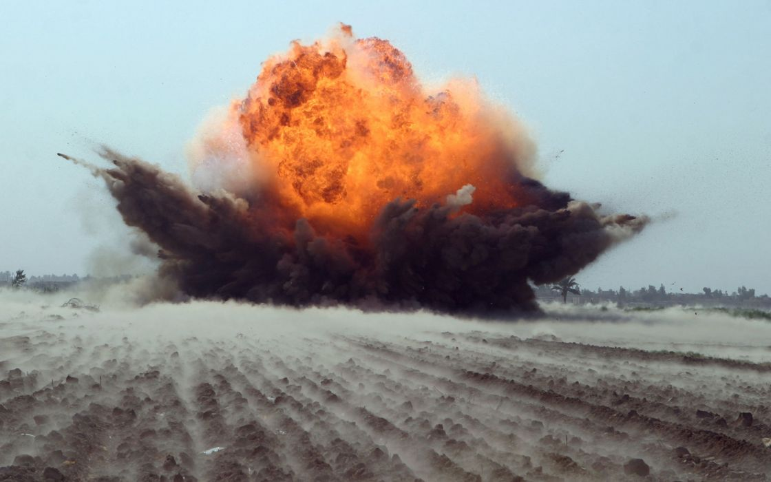 military explosions fire flames bombs weapons wallpaper