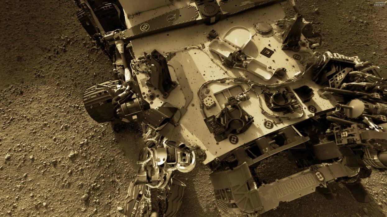 NASA Curiosity Mars planets tech mech robots sci-f science wallpaper