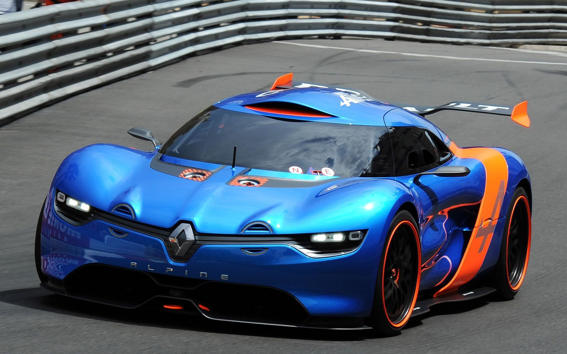 Renalt Alpine A110 50 Concept Supercars Racing Race Track