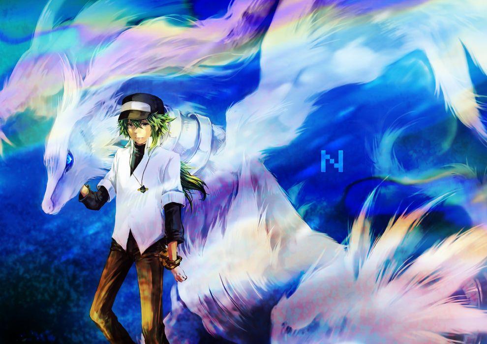 anime pokemon boy dragon wallpaper