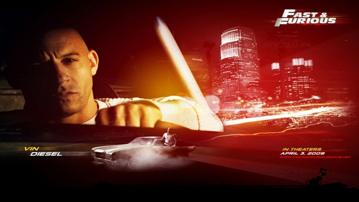 Fast And Furious Vin Diesel movies cars wallpaper
