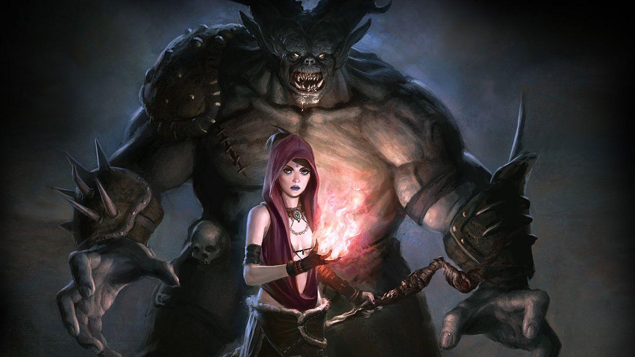 Dragon Age video games fantasy wallpaper