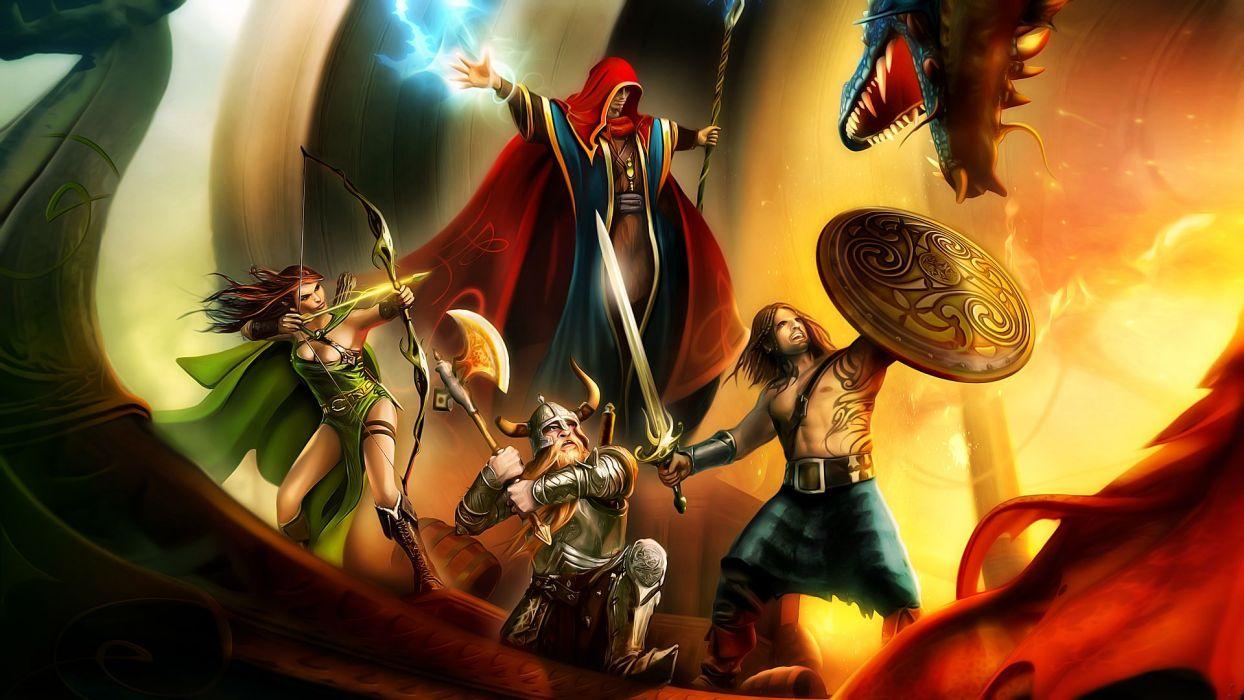 Drakensang fantasy wallpaper