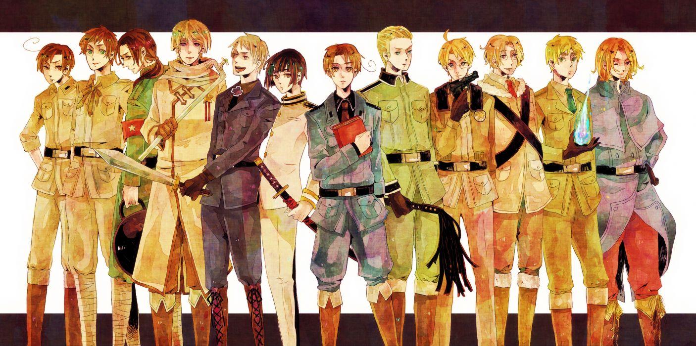 Axis Powers Hetalia wallpaper