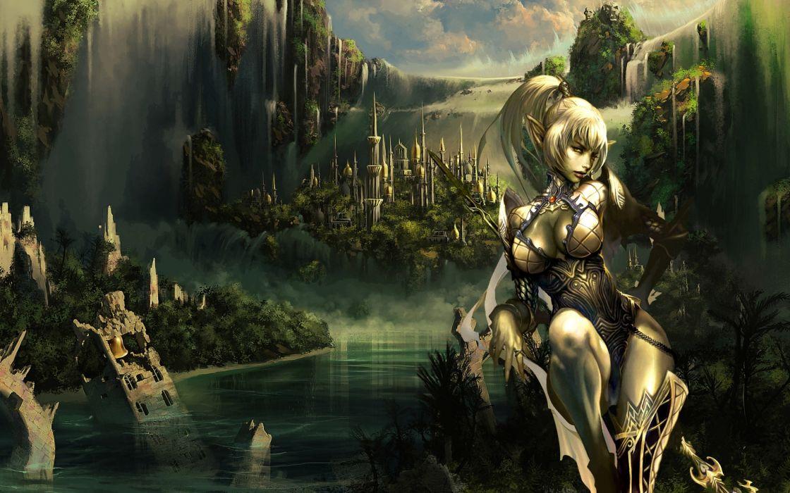 Lineage fantasy wallpaper