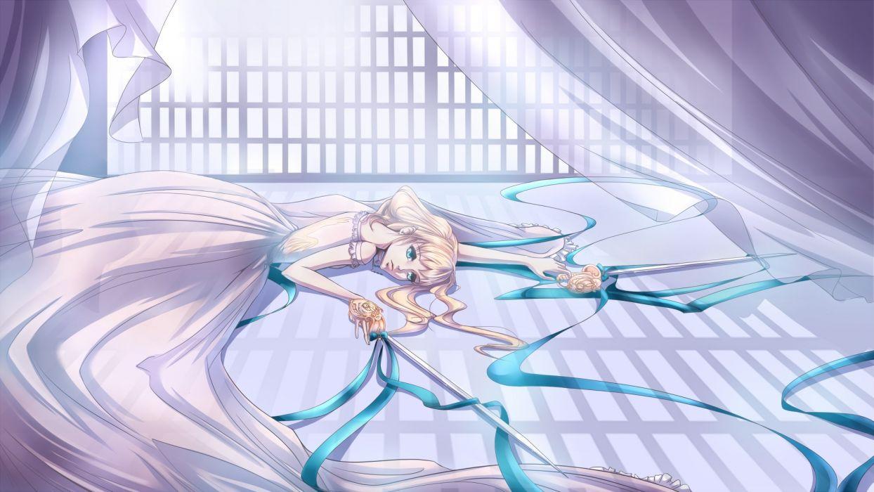 Art Elizabeth Middleford Kuroshitsuji anime girl wallpaper