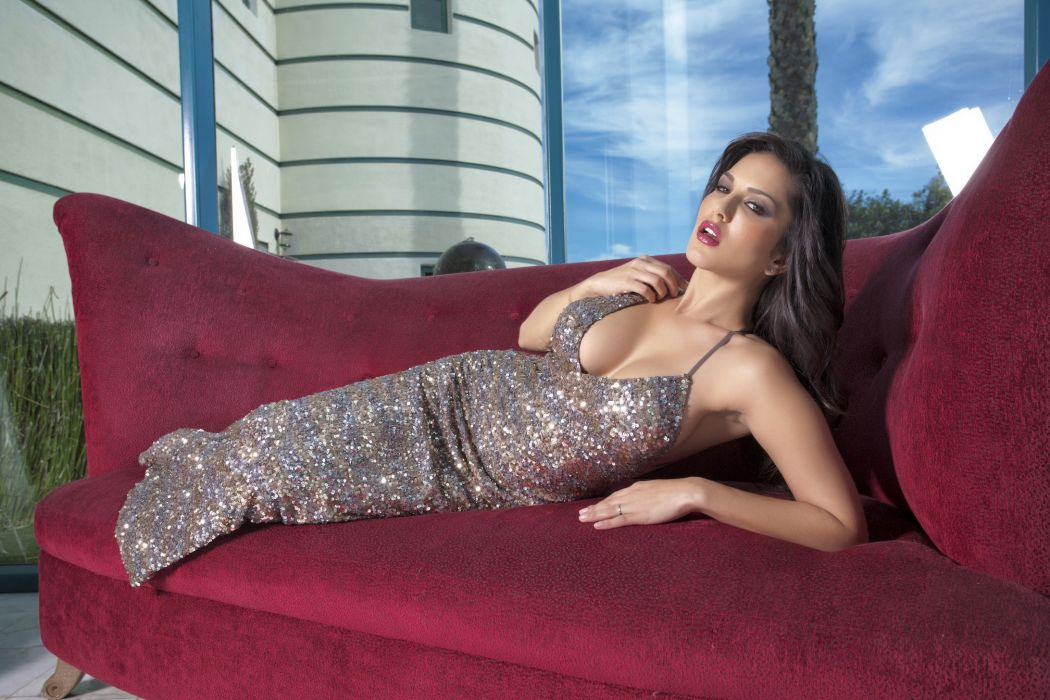 Sunny Leone adult women models actress brunettes sexy babes wallpaper