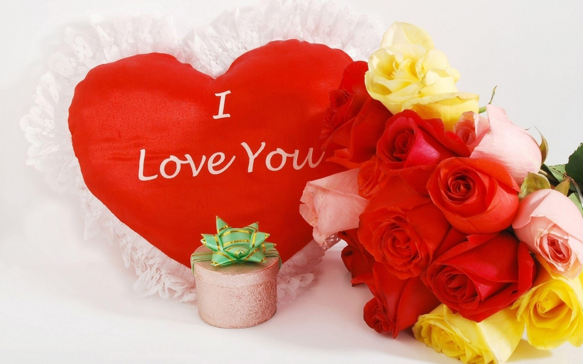 Valentine039s Day Love Romance Flowers Roses Heart Wallpaper