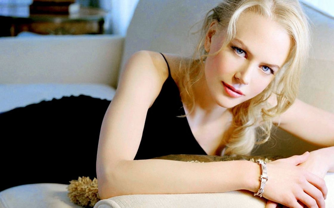 Nicole Kidman actress women females girls models blondes sexy babes face eyes pov wallpaper