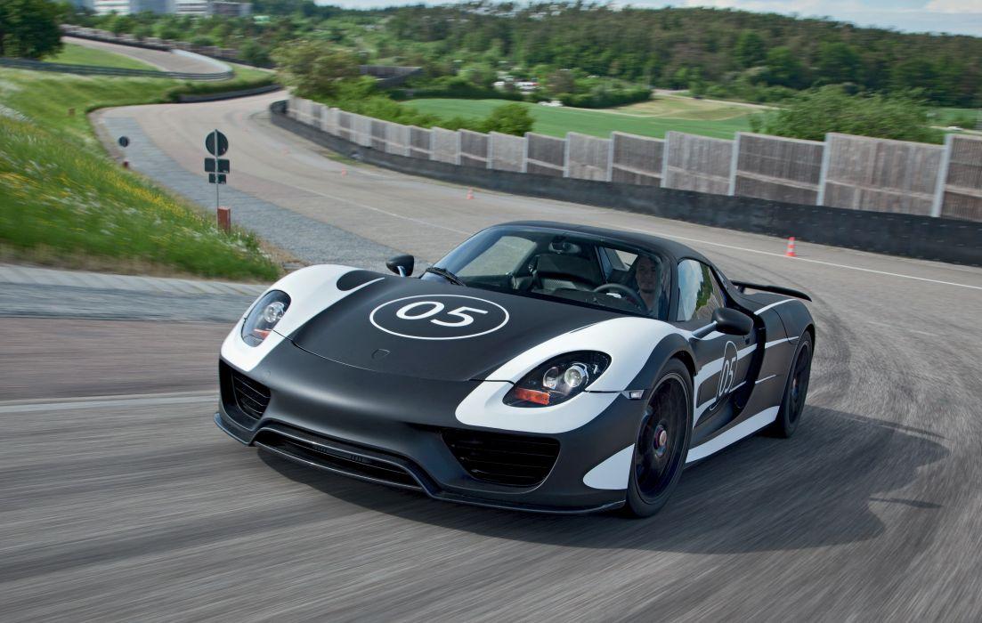 Porsche 2012 918 Spyder supercars racing race track wallpaper