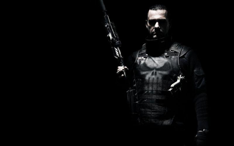 Ray Stevenson Punisher comics movies warriorsa soldiers weapons guns dark wallpaper