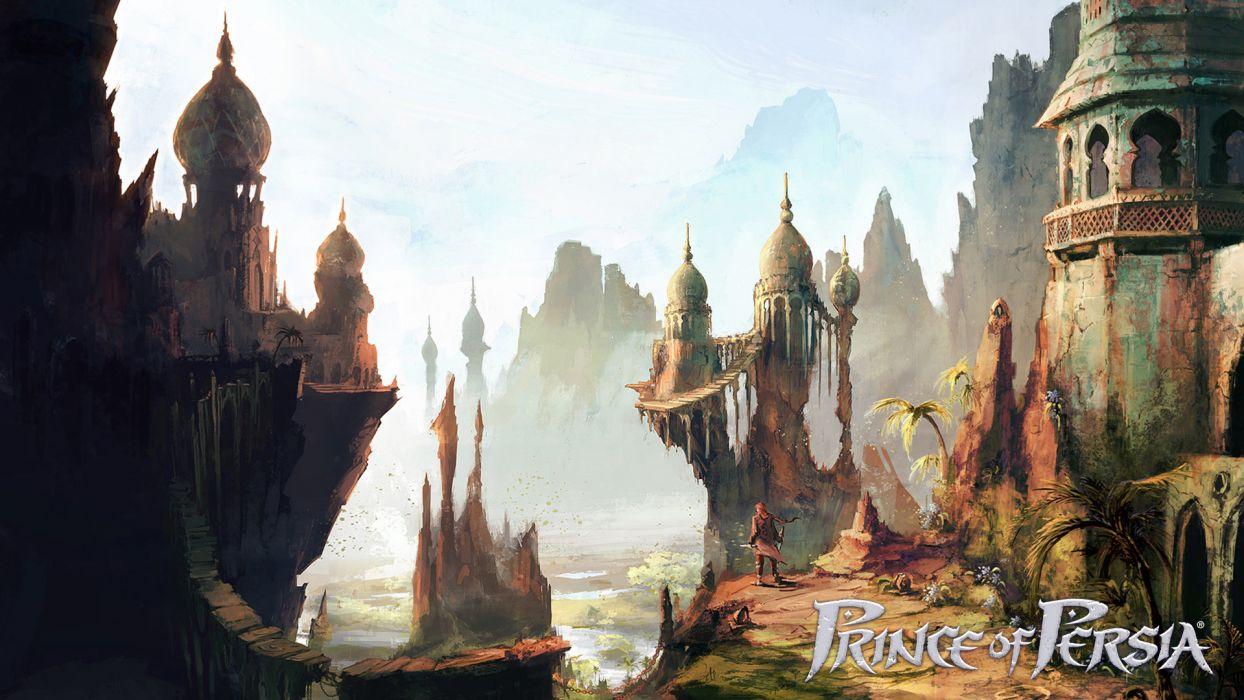Prince of Persia fantasy movies wallpaper