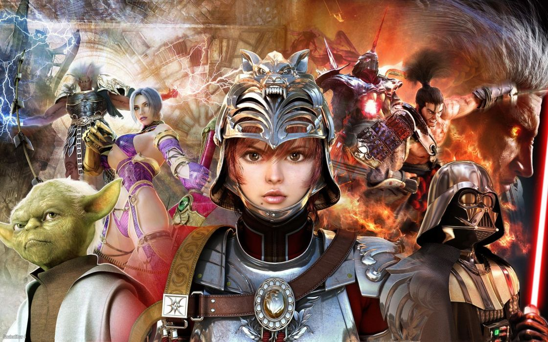 Soul Calibur fantasy wallpaper