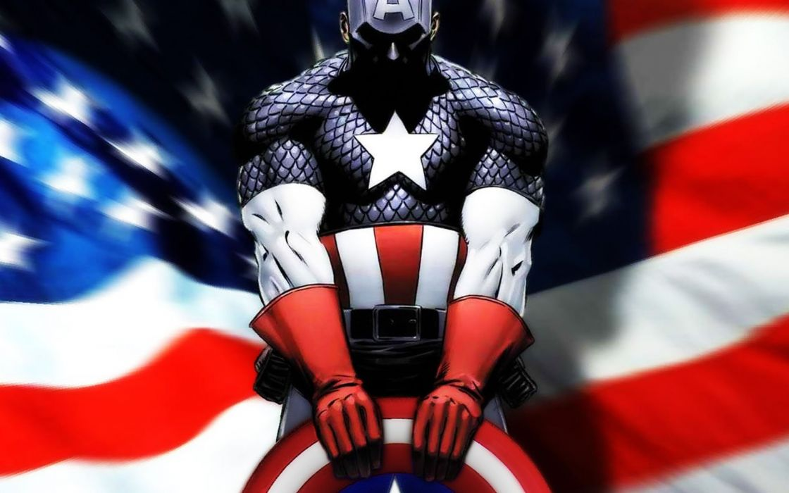 Captain America superhero wallpaper