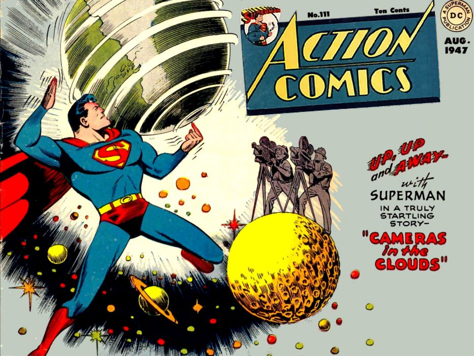 Superman comics superhero wallpaper