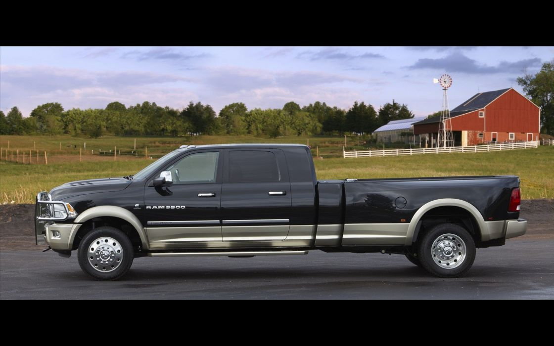 Dodge Ram 5500 trucks farm wallpaper