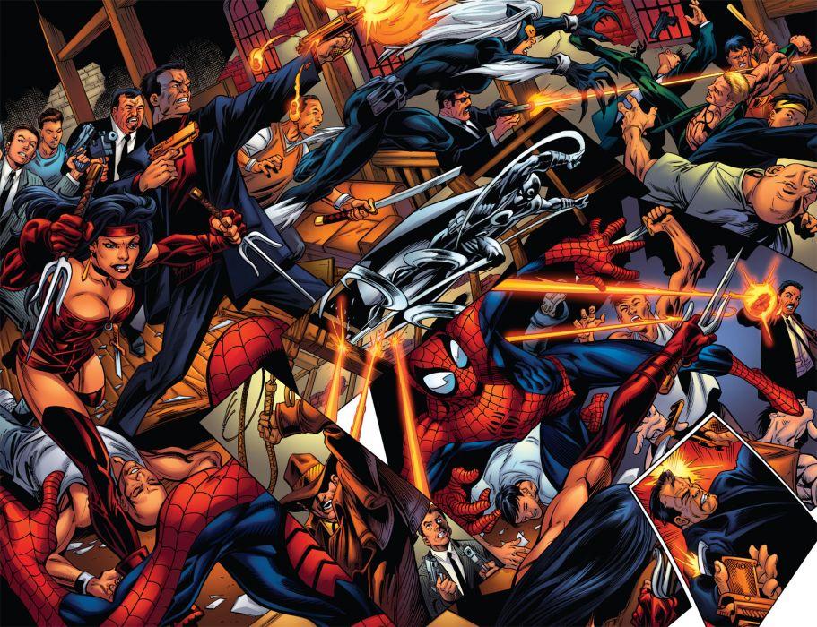 Spiderman comics spider-man superhero wallpaper