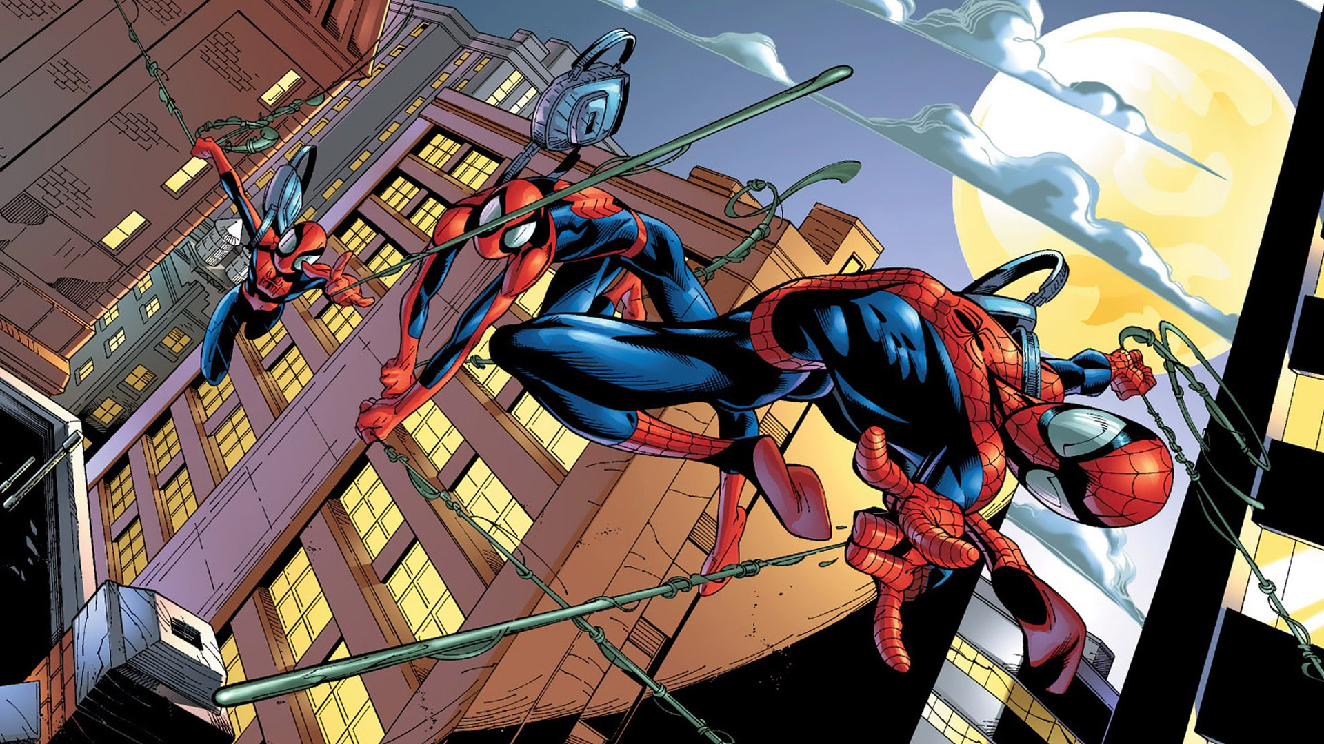 Spiderman comics spider-man superhero wallpaper ...