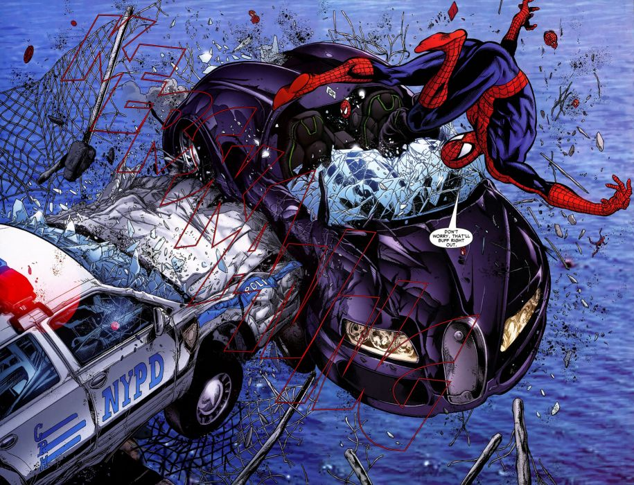 Spiderman comics spider-man superhero wallpaper
