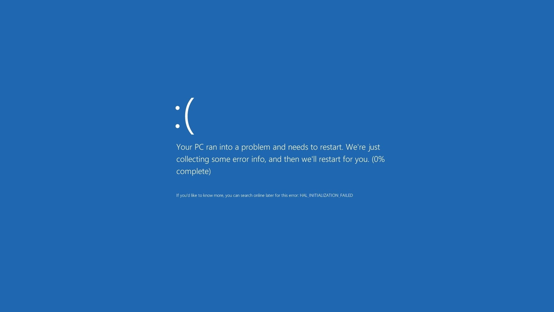 Blue Screen of Death Funny Blue Screen of Death Computer