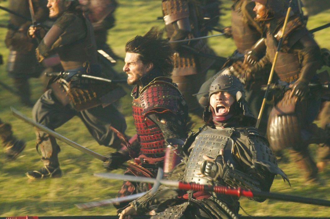 The Last Samurai movies tom cruise weapons swords katana battles war  h wallpaper