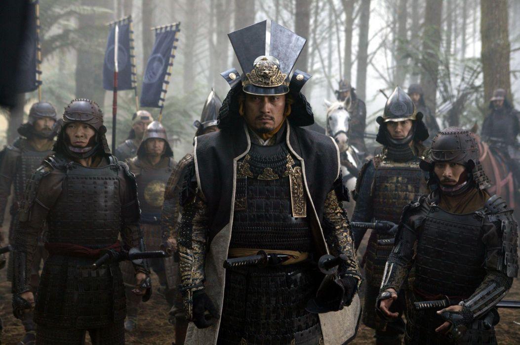 The Last Samurai movies Watanabe weapons swords katana battles war martial arts wallpaper