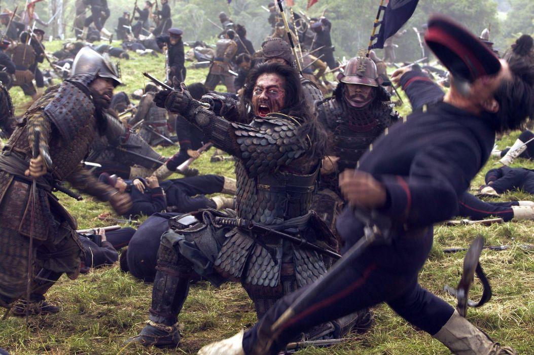 The Last Samurai movies weapons swords katana horses people martial arts  j wallpaper