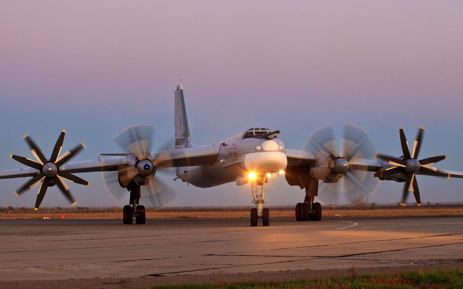 Tu 95MS Military Russia Air Force Airplane Wallpaper