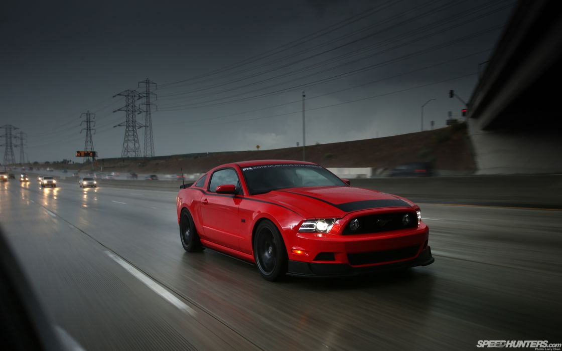 Ford mustang highway road cars vehicles wallpaper