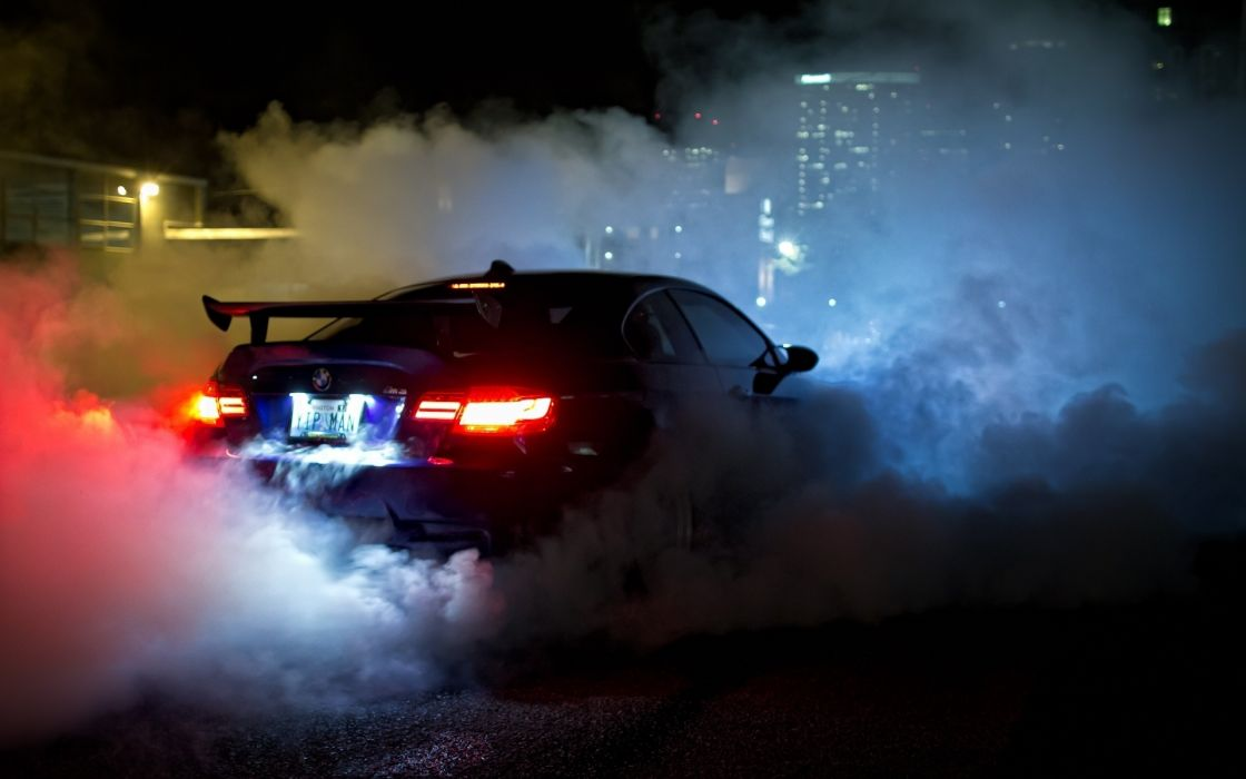 Bmw burnout cars  wallpaper