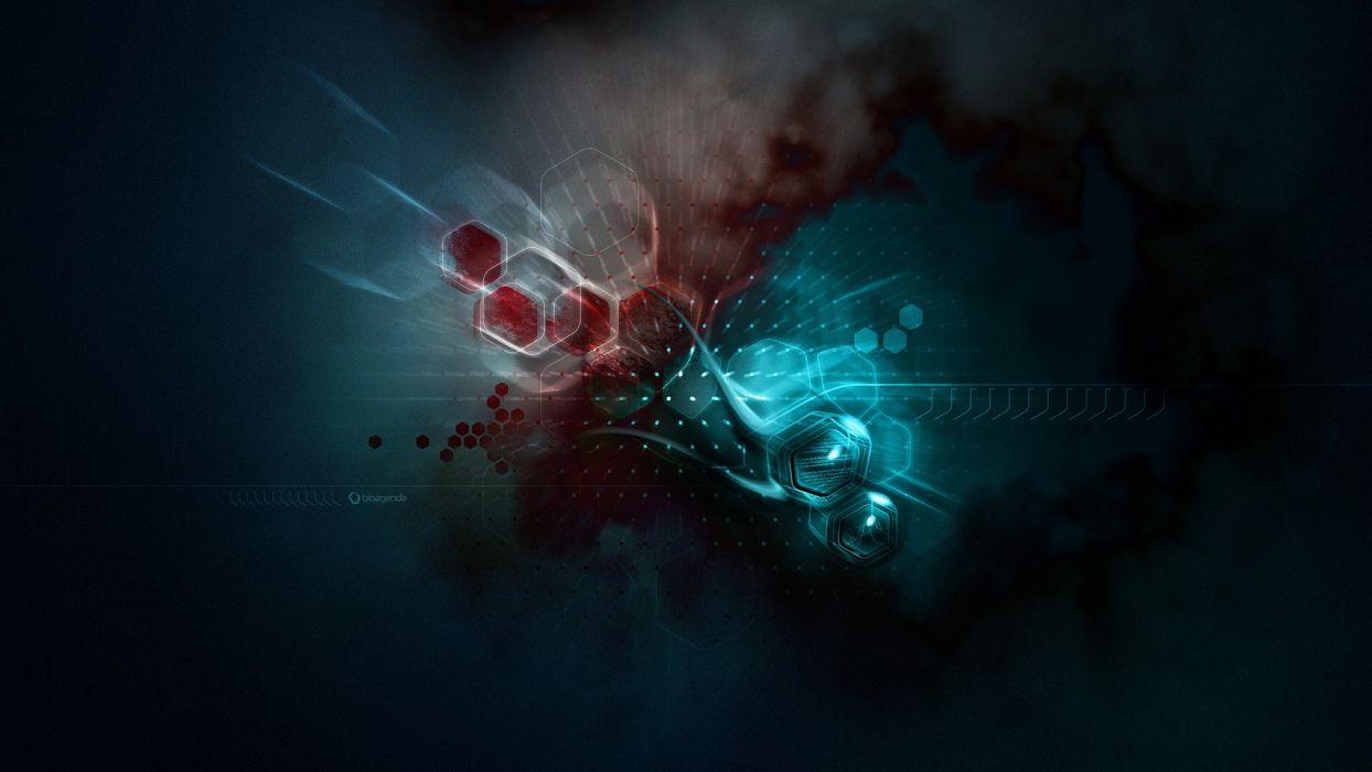 cg digital art 3d psychedelic wallpaper