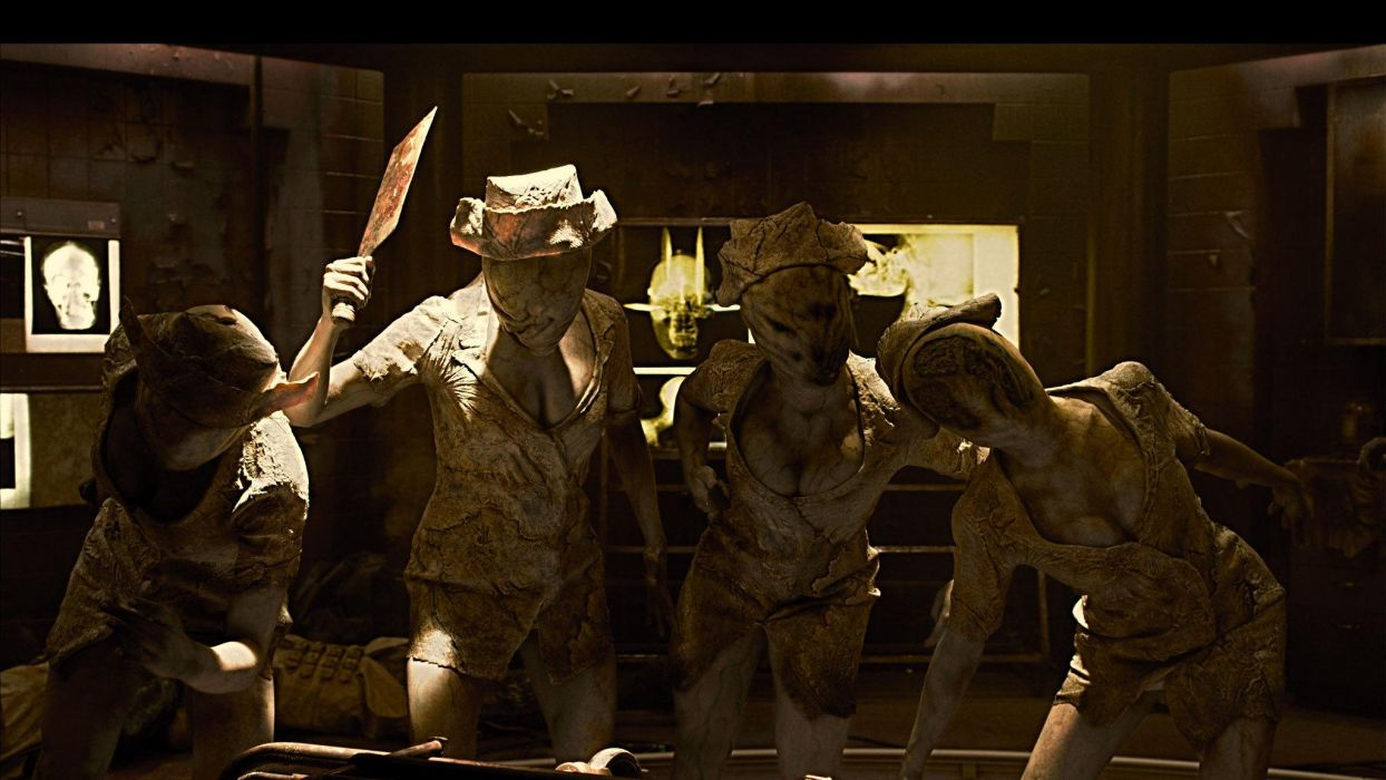 Silent Hill Revelation 3D movies dark horror     f wallpaper