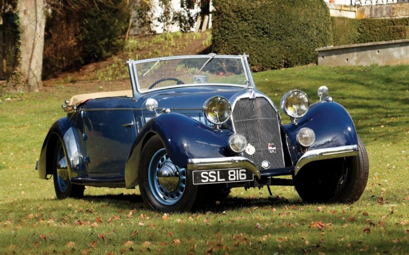 Talbot Lago T23 Mayor Cabriolet 1938 retro classic cars wallpaper