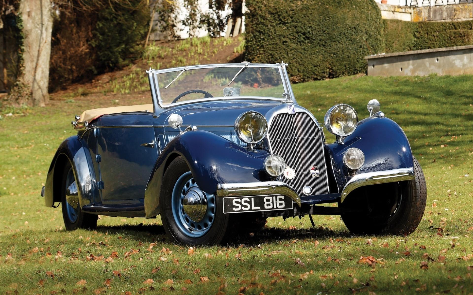 Talbot Lago T23 Mayor Cabriolet 1938 Retro Classic Cars