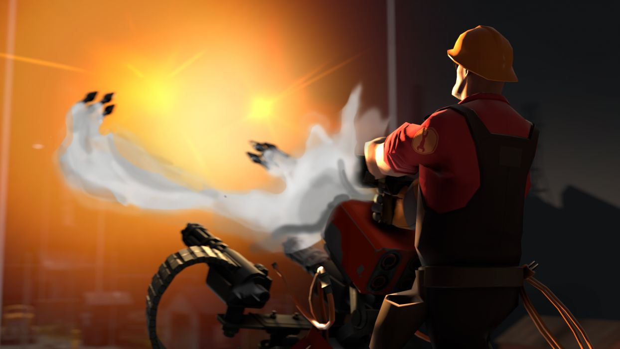 Team Fortress Missiles weapons guns wallpaper